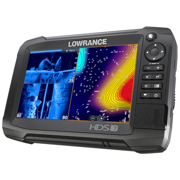 Eholote Lowrance HDS-7 Carbon TotalScan